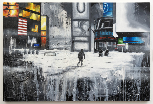Chris DAZE Ellis, 'Times Square blizzard ', 2016, P.P.O.W