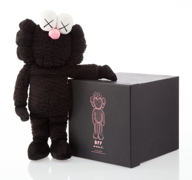 KAWS, 'BFF Companion (Black)', 2016, Other, Polyester plush, Heritage Auctions