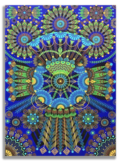 , 'Kaleidoscopic Nature 5,' 2018, Jonathan LeVine Projects