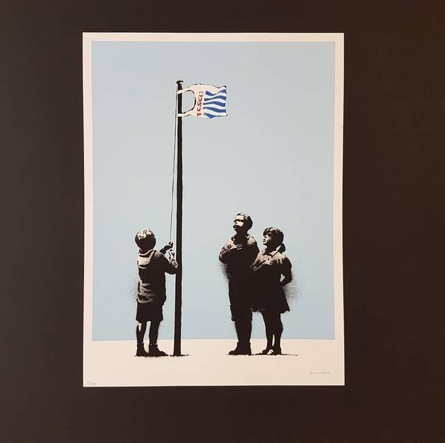 Banksy, 'Very Little Helps', 2008, Castle Gallery
