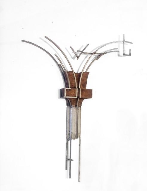 Juan Garaizabal, 'Broken Chicago Façade II', 2016, Sculpture, White Concrete, wood and stainless steel, Bogena Galerie