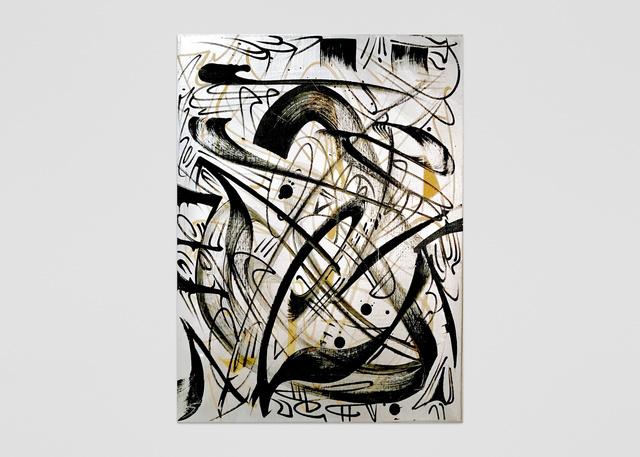 , 'Steel Orbit,' 2017, ABXY