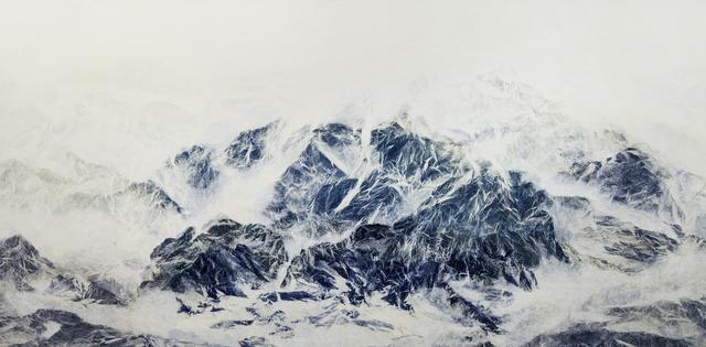 , 'Cyano-Collage 005,' 2017, Galerie du Monde
