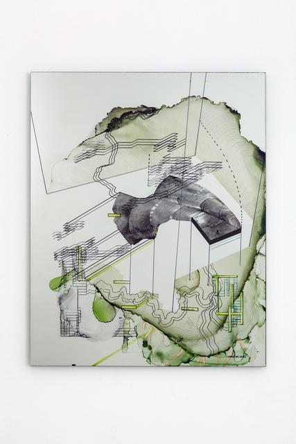, 'Das Fundament,' 2018, Galerie Crone
