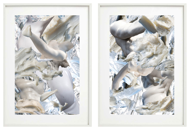 Fabio Ranzolin, 'Raptus I & II', 2020, Photography, C-print on Canson Platine Fibre Rag 310 gsm mounted on aluminium, Montoro12 Contemporary Art