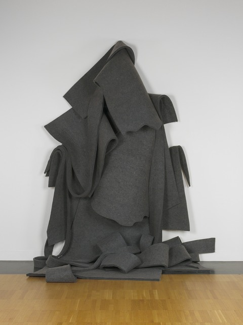 Robert Morris (b. 1931), 'Untitled (Version 1 in 19 Parts)', 1968/2002, Sculpture, Felt, Yale University Art Gallery