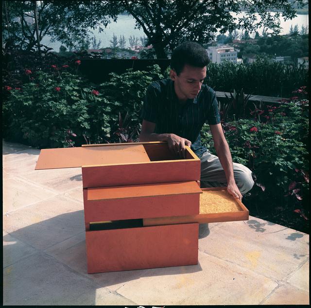 Hélio Oiticica, 'B11 Box Bólide 9 (B11 Bólide caixa 9) at Rua Engenheiro Alfredo Duarte, Rio de Janeiro', 1964, Whitney Museum of American Art