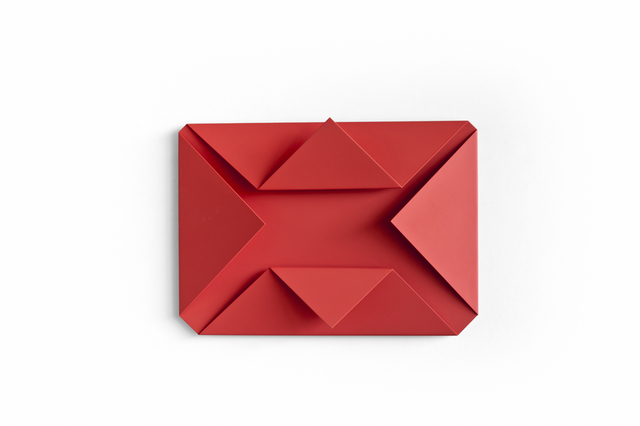 , 'Red Folded Flat 03,' 2015, Rauminhalt