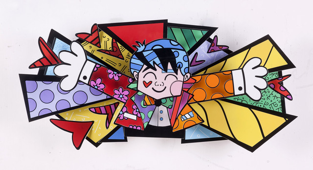 Romero Britto Happy Go Lucky Eden Fine Art Artsy