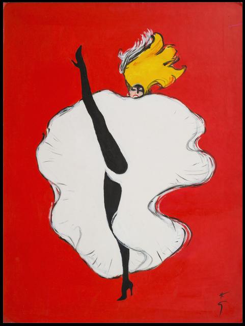 René Gruau, 'Le Moulin Rouge', Galerie de Souzy