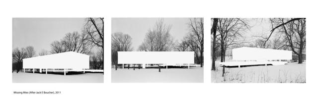 , 'Missing Mies (After Jack E Boucher),' 2011, Winston Wächter Fine Art