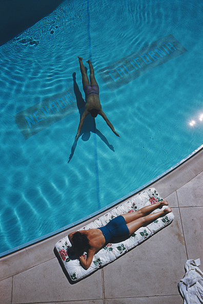 Slim Aarons, 'Swimmer and Sunbather', 1959, Staley-Wise Gallery