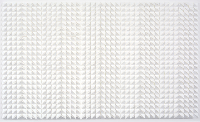, 'Points of White,' 2016, The Lionheart Gallery