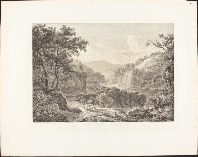 Albert Christoph Dies, 'Cascatella di Tivoli, seconda veduta', 1792, National Gallery of Art, Washington, D.C.