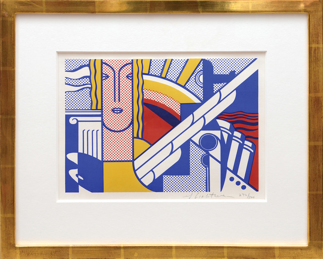 Roy Lichtenstein, 'Modern Art Poster', 1967, Peter Harrington Gallery