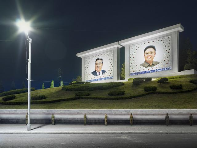 , 'The Eternal Leaders (Somun Street, Pyongyang),' 2015, The Ravestijn Gallery