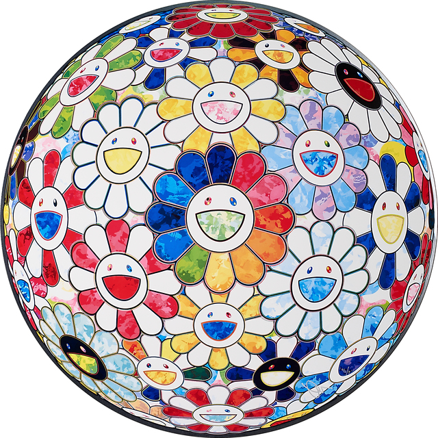 Takashi Murakami, 'Flowerball Mulitcolors 1 (Scenery with a Rainbow in the Midst)', 2014, Rago/Wright