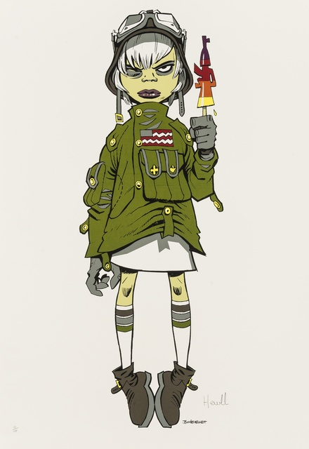 Jamie Hewlett, 'M16 Assault Lolly', 2005, Forum Auctions
