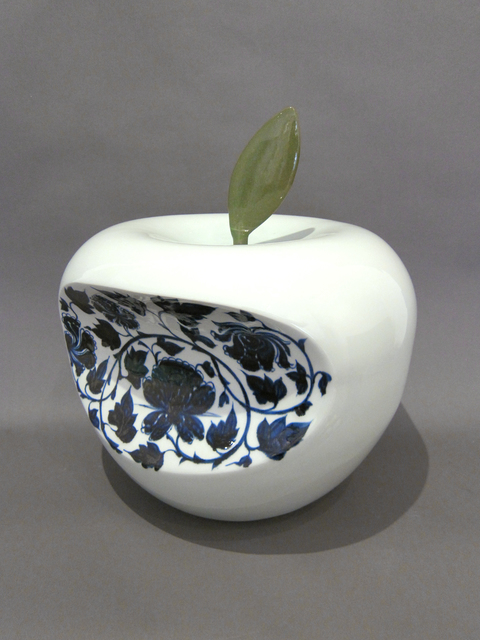 Li Lihong, 'Apple - China (Blue)', 2007, Hollis Taggart