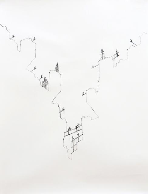 , 'Stylites Urbains #2,' 2014, Caroline Pagès Gallery