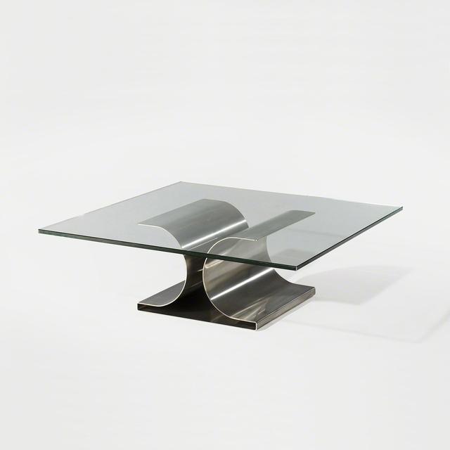 , 'X Table,' 1968, Demisch Danant