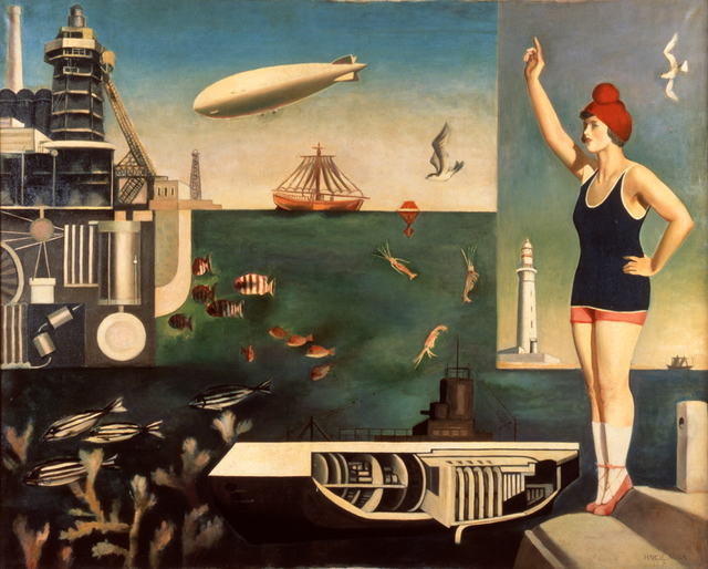 , 'Sea,' 1929, The National Museum of Modern Art, Tokyo