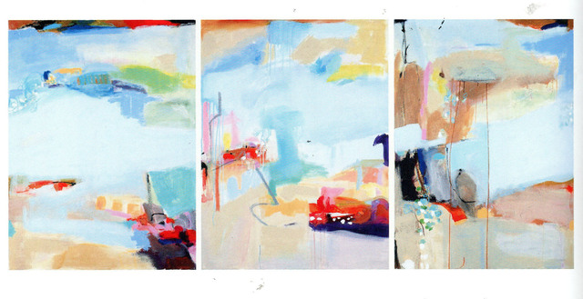 , 'The Seine Triptych,' 2014, Paraphé