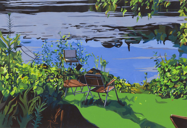 , 'Lac Bouchette,' 2013, Galerie Roger Bellemare et Christian Lambert