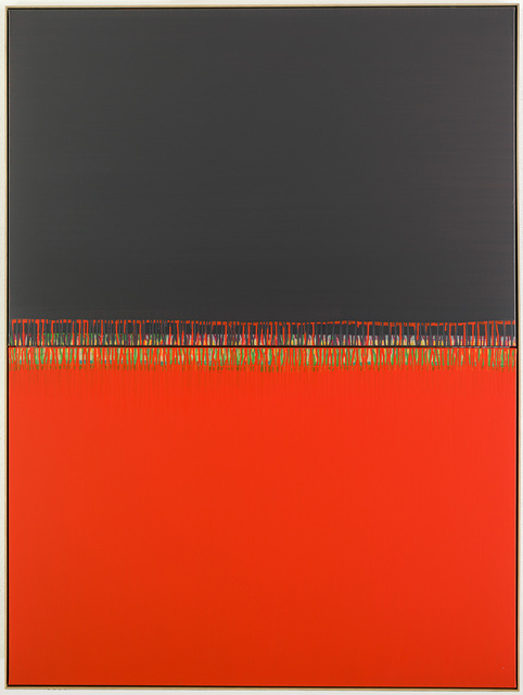 , 'What did I do to be so red and black,' 2012, Galerie Jordanow