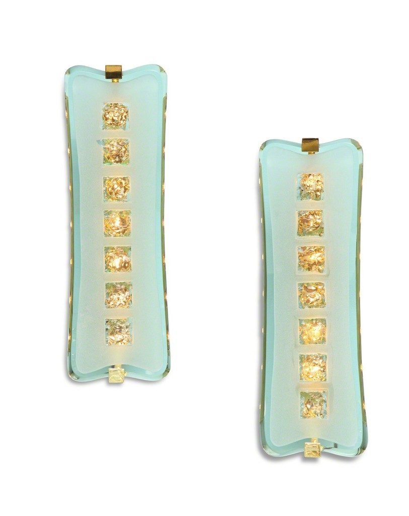 Pair of large scale sconces #1568