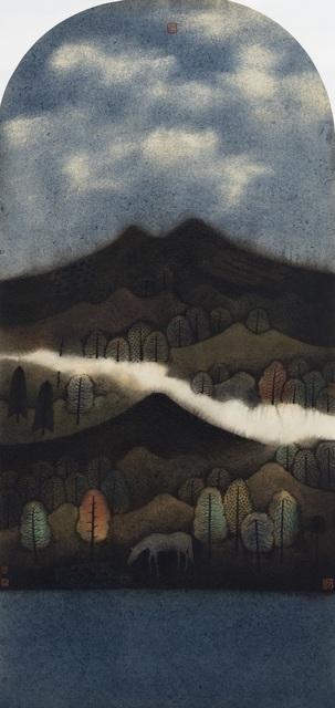 Hong Tao Huang 黄红涛, 'Nameless Hills Series 2 No.191', 2016, White Space Art Asia