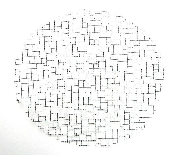 , 'Reticulas Rotas V (Circular),' 2010, Galeria Marilia Razuk