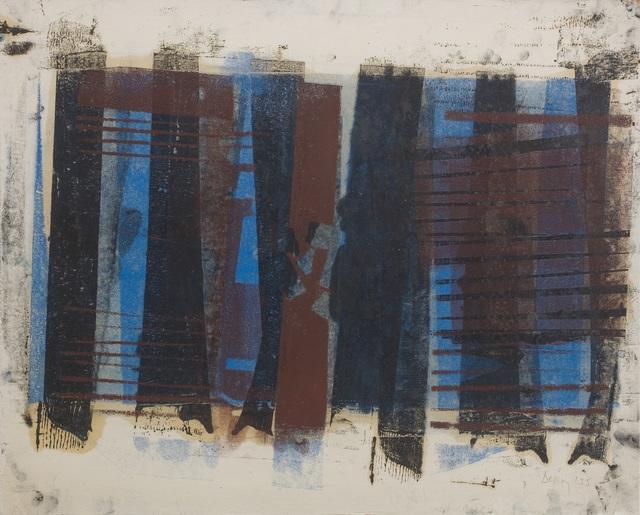 Robyn Denny, '1 B 9', 1955, Joanna Bryant & Julian Page