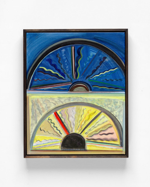 , 'Steering wheel at night and day,' 2019, Sophie Gannon Gallery