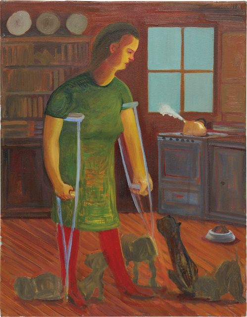 Nicole Eisenman, 'Untitled (Crutch Woman)', 2013, Phillips