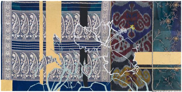 , 'Blue Hibiscus,' 2017, DC Moore Gallery