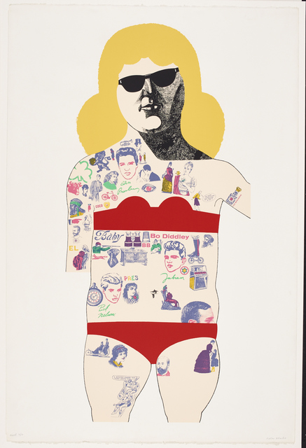 , 'Tattooed Lady,' 1985, LEVY Galerie