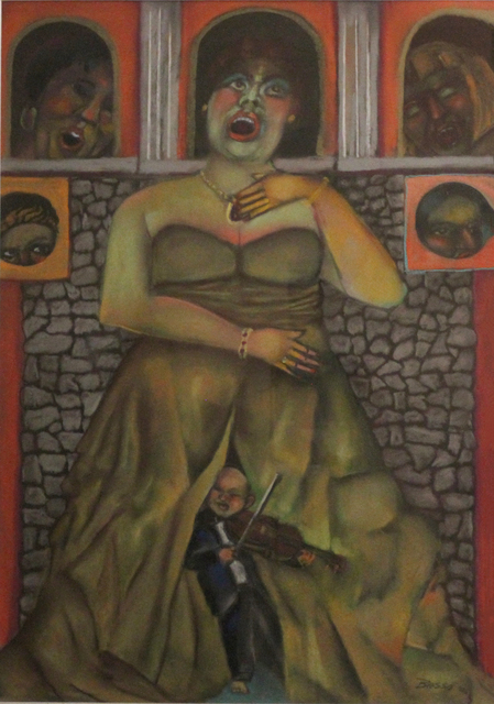 , 'the diva's little secret,' 2006, Tabla Rasa Gallery
