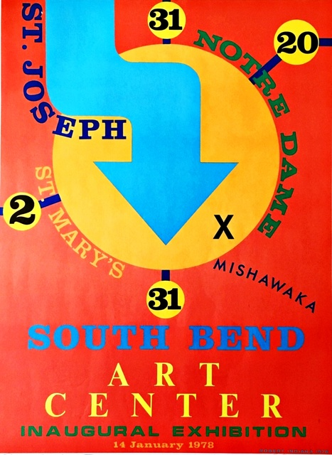 Robert Indiana, 'South Bend Art Center', 1978, Alpha 137 Gallery