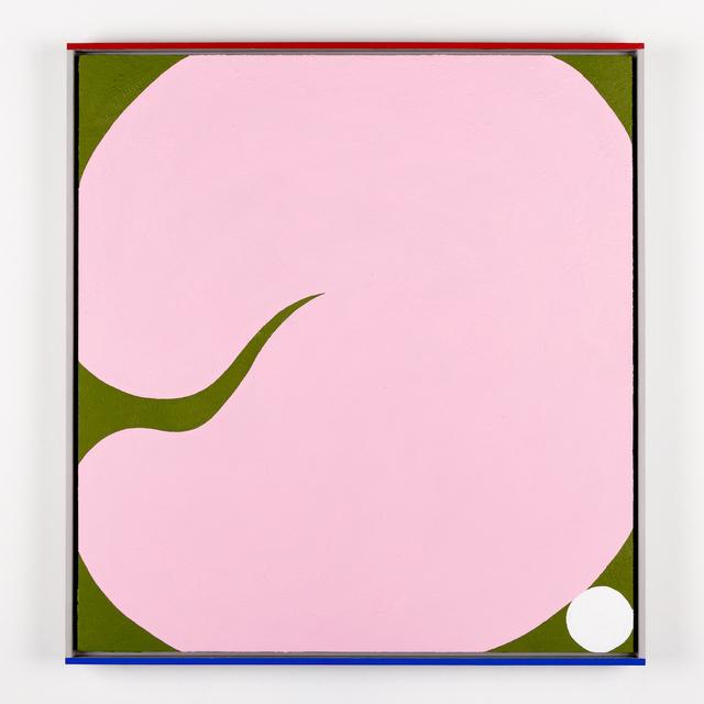 , 'The Pink Bear Rolls In Springtime,' 2019, SAINT CLOCHE