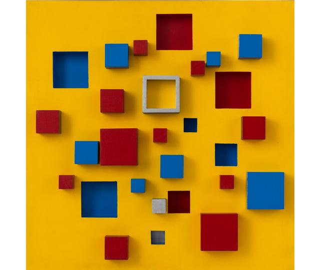 Abdulio Giudici, 'Sin título', 1993, Painting, Acrylic, plaka paint on wood, Herlitzka + Faria