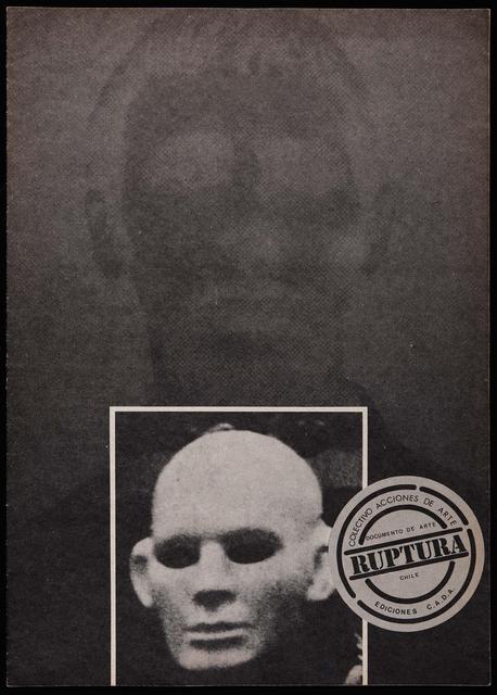 , 'Impreso Cada, Tabloide, Ruptura / Cadaprint, Tabloid, Rupture.,' 1982, espaivisor - Galería Visor