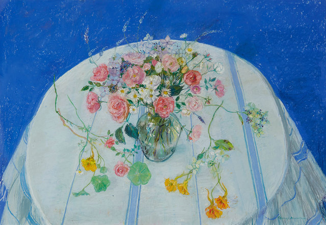 , 'Garden Flowers - October,' , Mall Galleries