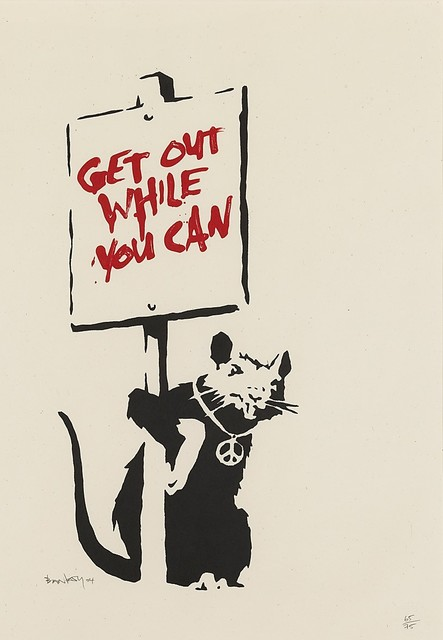 Banksy, 'Get Out While You Can ', 2004, Andipa