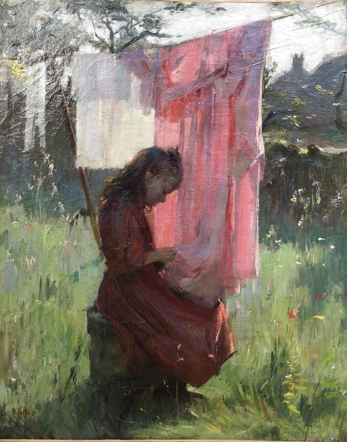 , 'Fille en Bretagne,' 1880-1890, ArtGiverny