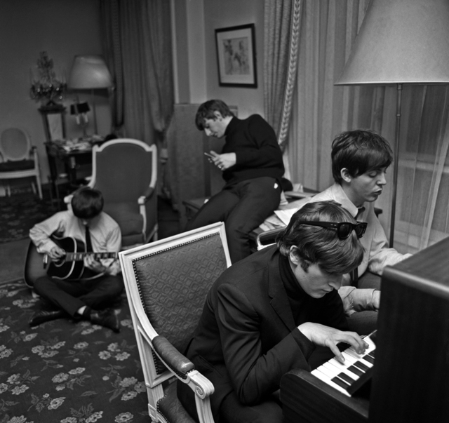 , 'Beatles Composing, Paris,' 1964, Holden Luntz Gallery