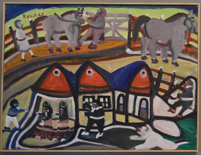 , 'Two Sisters Farm Scene,' 1992, Webb Gallery