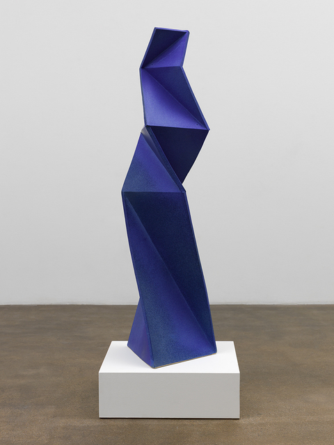 , 'Twin Blue Figure 2,' 2015, David Kordansky Gallery