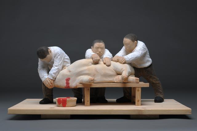 , 'Butchering,' 2015, Line Gallery