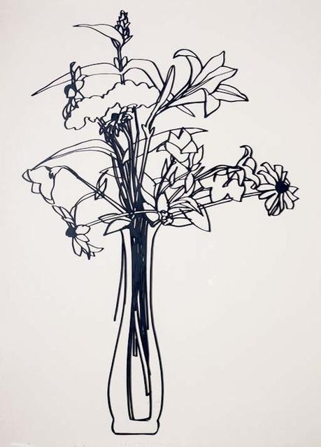 Tom Wesselmann, 'Wildflower Bouquet', 1987, Mixed Media, Enamel on Laser Cut Steel, Gregg Shienbaum Fine Art